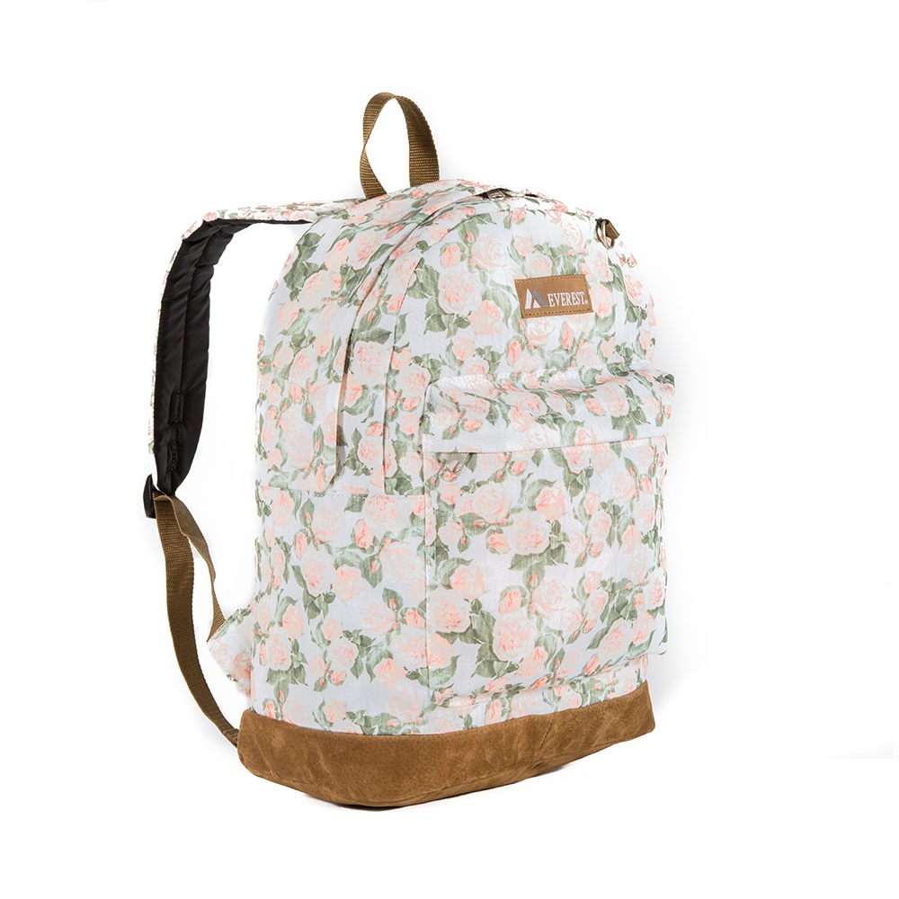 Everest Suede Bottom Pattern Backpack