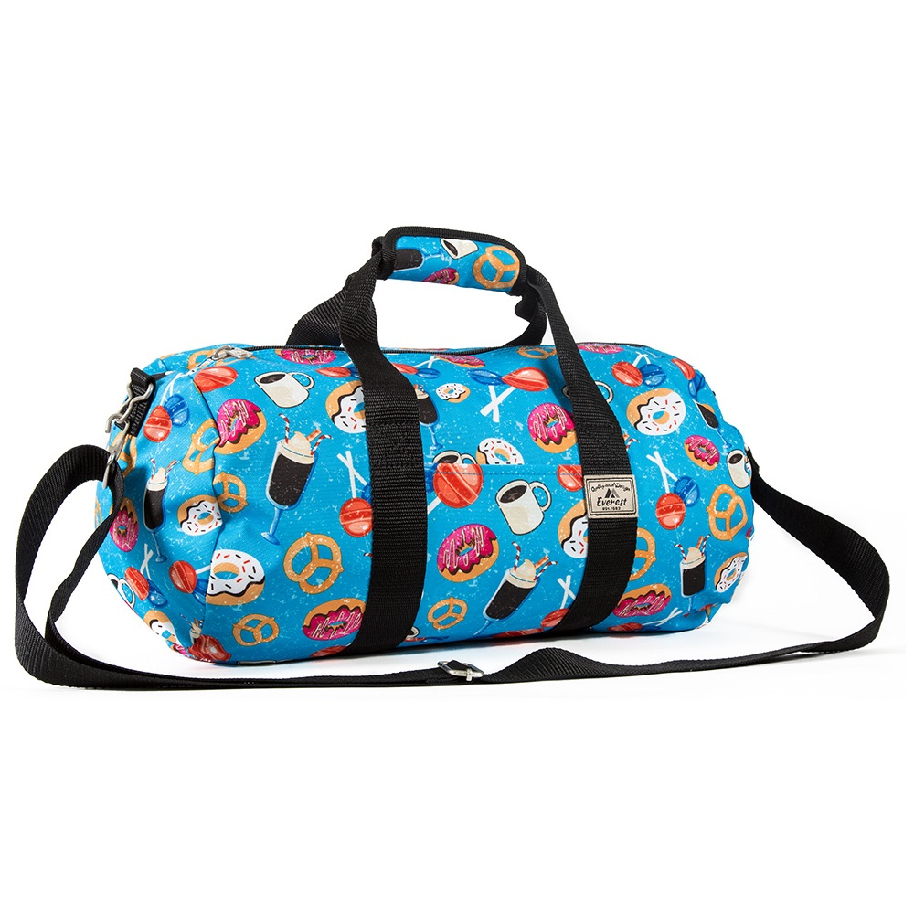 Everest Pattern 16-Inch Round Duffel