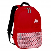Everest Printed Pattern Backpack