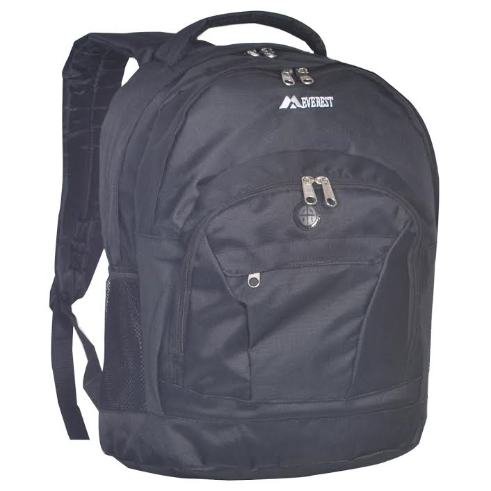 Everest Deluxe Double Compartment Backpack
