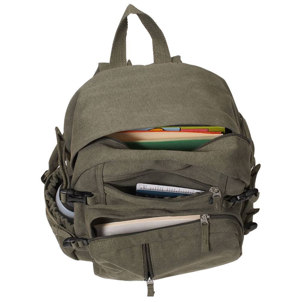 93ec2f0a7 Everest Canvas Backpack - Medium - Free Shipping