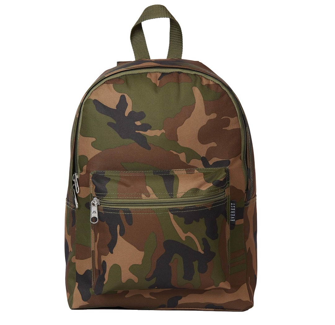 Camo Basic Backpack