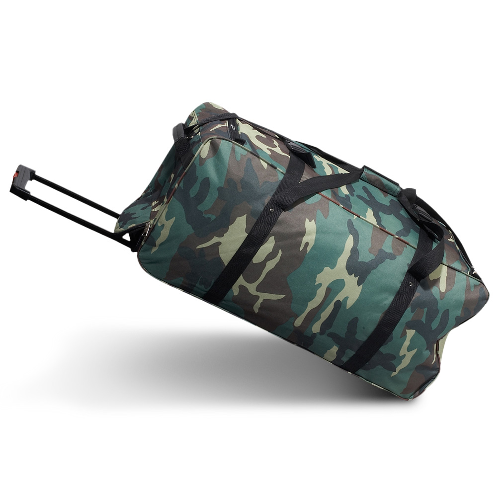 Everest Wheeled Jungle Camo Duffel