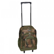 Everest Woodland Camo Wheeled Backpack