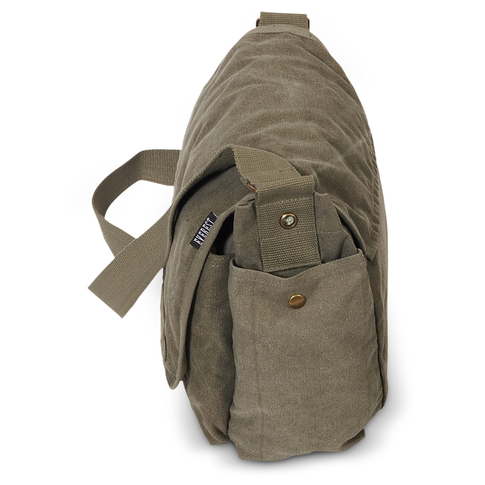 CT073L - Everest Canvas Messenger - Large