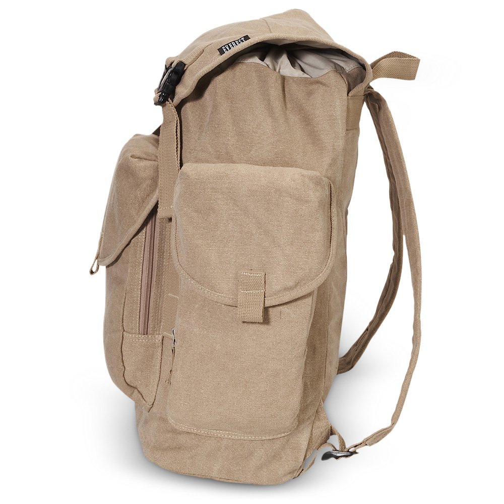 CTBP2010L - Everest Canvas Backpack - Large