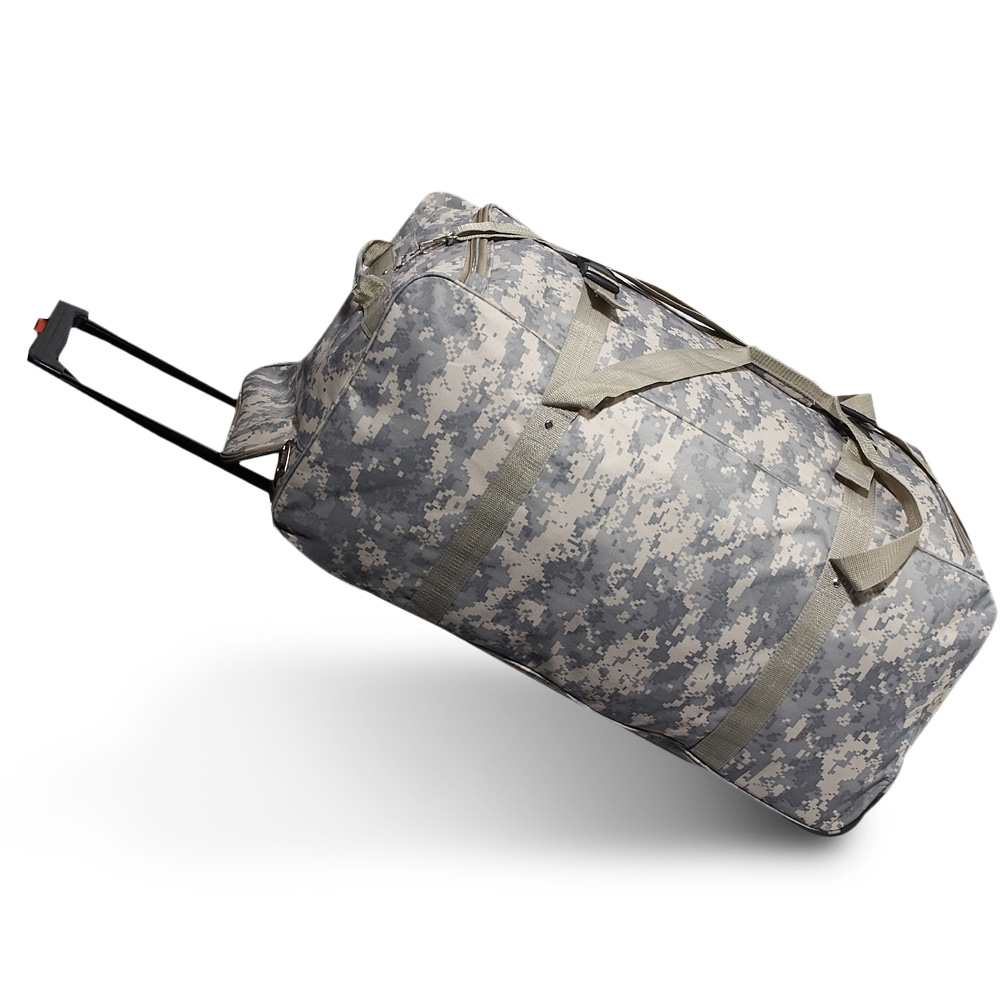 Everest Wheeled Digital Camo Duffel