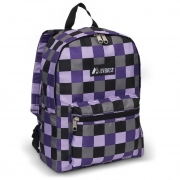 1045KP - Basic Pattern Backpack