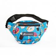 Everest Signature Pattern Fanny Pack