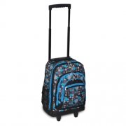 Everest Wheel Backpack w/ Pattern