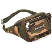 Woodland Camo Waist Pack - Medium