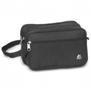 Everest Dual Compartment Toiletry Bag