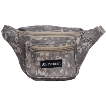Digital Camo Waist Pack - Large