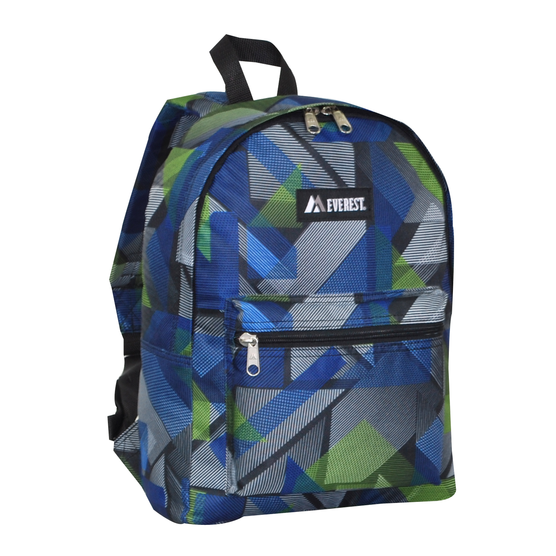 Everest Basic Pattern Backpack Free Shipping