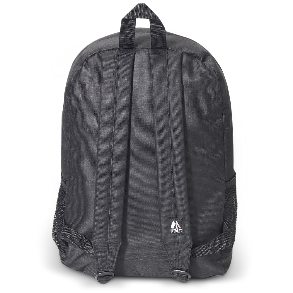 Everest Backpack W Front Amp Side Pockets Free Shipping