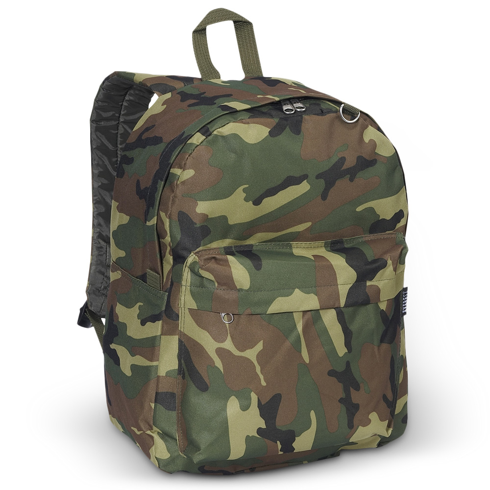 Everest Classic Camo Backpack - Free Shipping