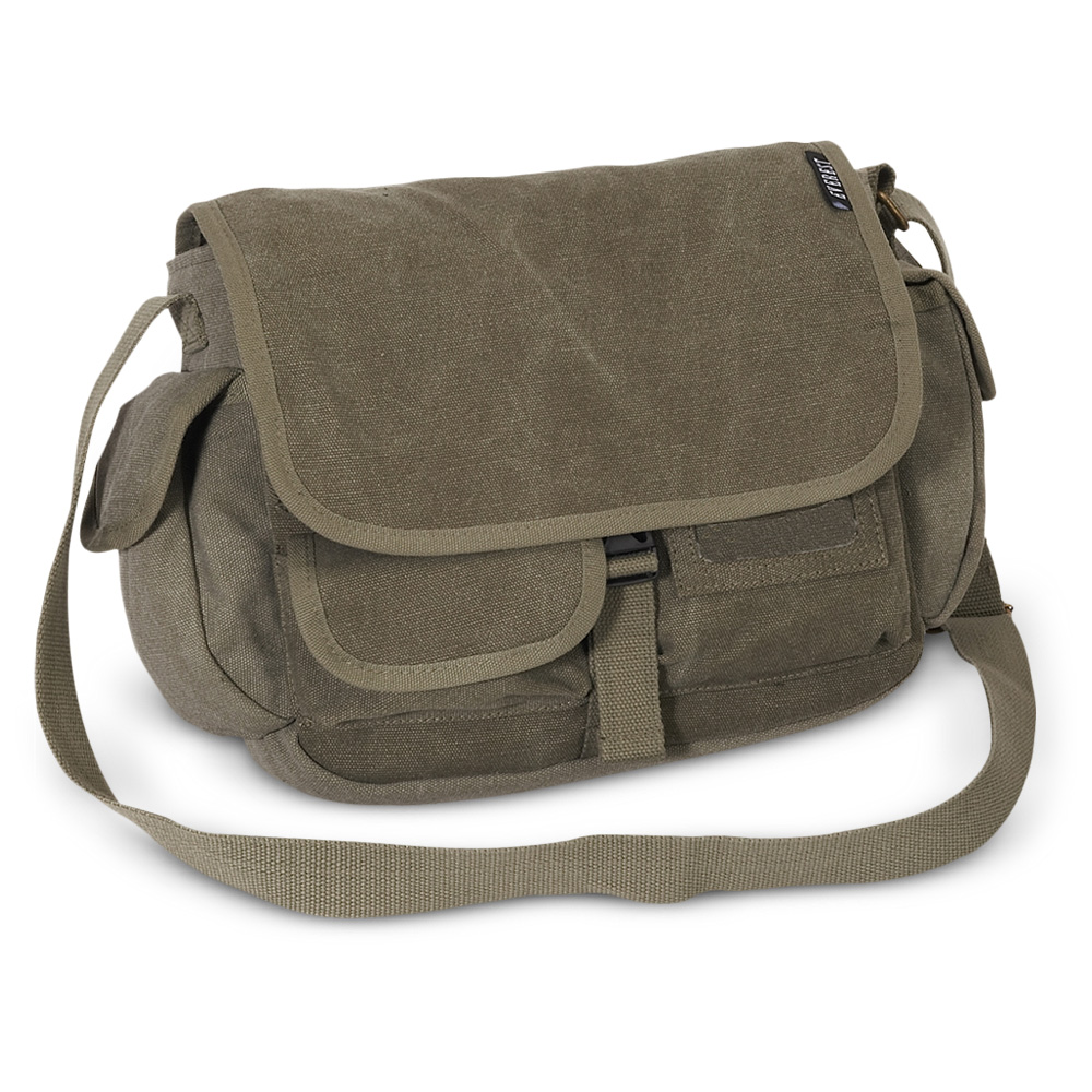 Everest Canvas Messenger - Small - Free Shipping