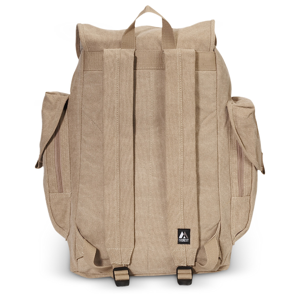 Everest Canvas Backpack Large Free Shipping