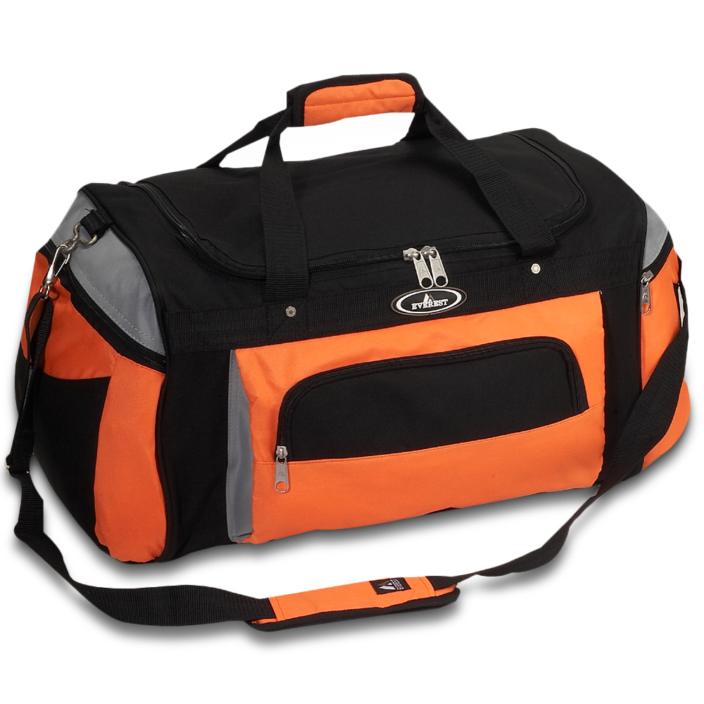8b0372aa6 Everest Deluxe Sports Duffel Bag - Free Shipping